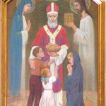 obraz Św. Mikołaja w Witanowicach