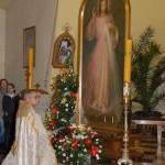 Nawiedzenie Obrazu Jezusa Miłosiernego w parafii